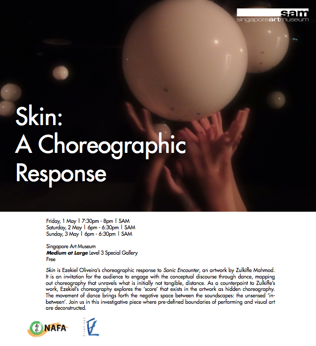 Skin - A Choreographic Response
