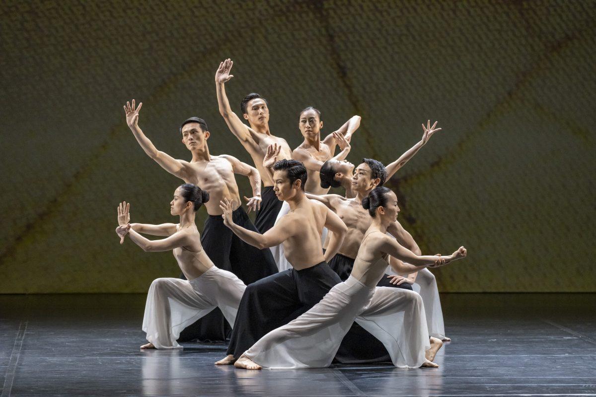 Cloud Gate 45th Anniversary Gala Programme — Lin Hwai-min A Retrospective